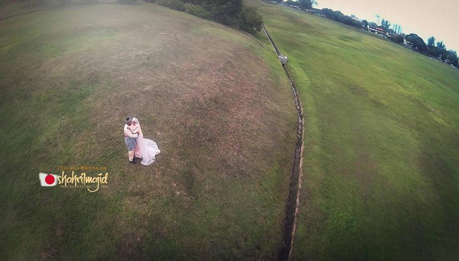 Fotografi Wedding Apa Bagaimana Memahaminya: Wedding Foto Dari Drone